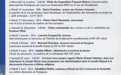 Changement de date pour la conférence de Sophie Milard initialement prévue le 3 Mars 2020