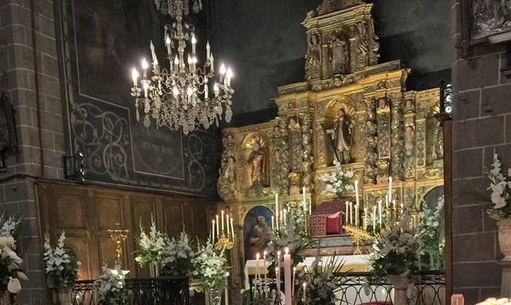 La cathédrale de Perpignan pendant la Semaine Sainte