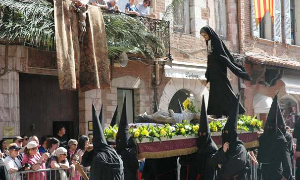 Le Vendredi Saint à Perpignan :  la Procession de la Sanch