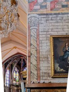 Peintures murales (XVe siècle) de la chapelle Notre Dame du Pont 1 - Eglise Notre Dame de la Réal à Perpignan