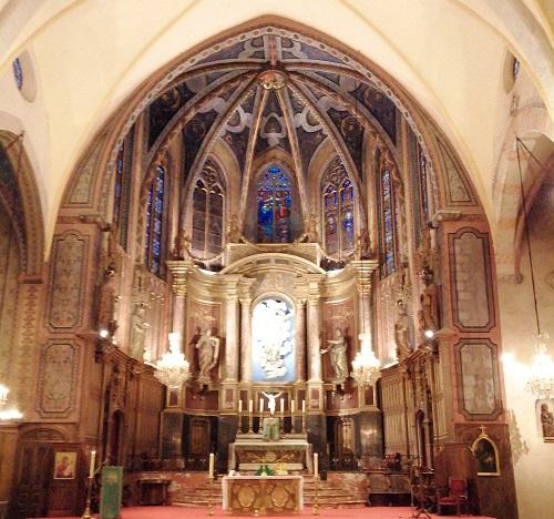 Visite église Notre Dame la Réal par Jean-Luc Antoniazzi